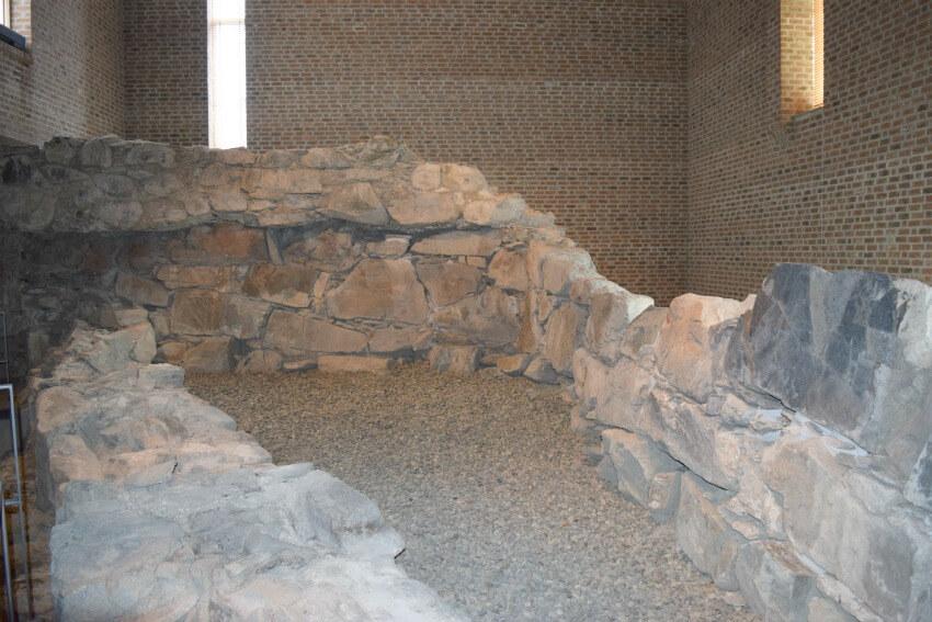 Norwegen - Trondheim Bischofspalast Überreste