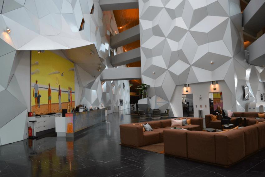 Norwegen - Trondheim Clarion Hotel Lobby