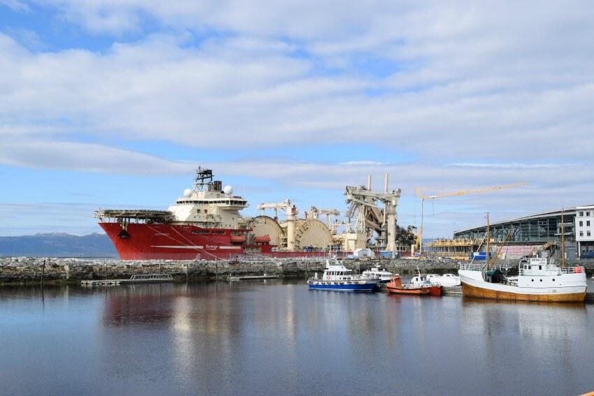 Norwegen - Trondheim Hafen neu