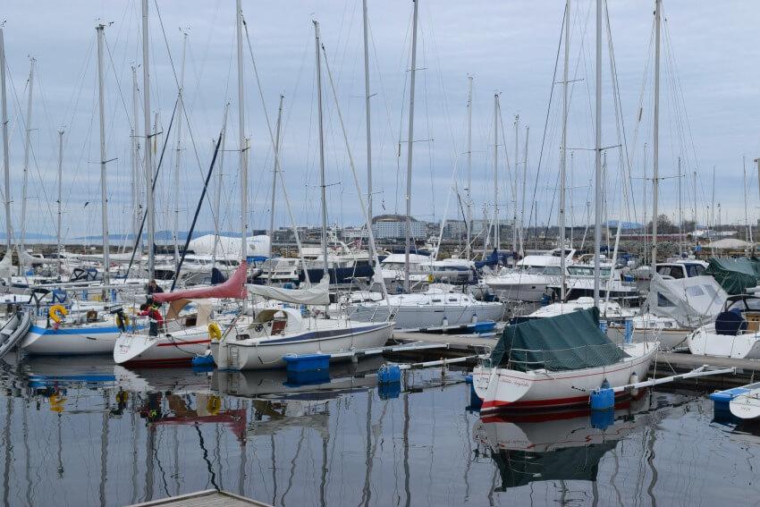 Norwegen - Trondheim Hafen