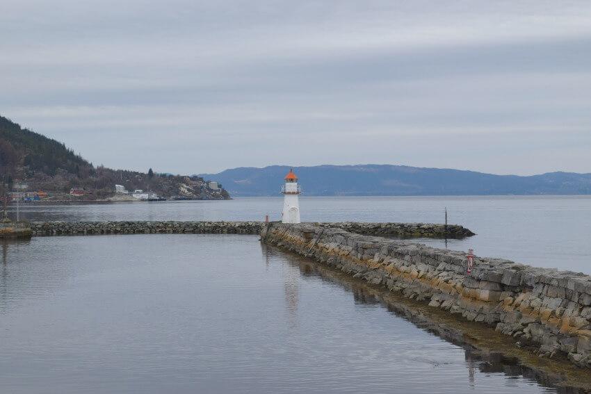 Norwegen - Trondheim Leuchtturm