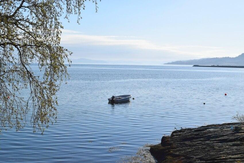 Norwegen - Trondheim St. Olavsweg Boot