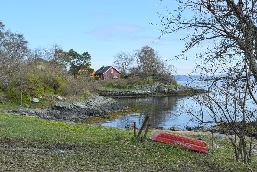 Norwegen - Trondheim St. Olavsweg Idylle