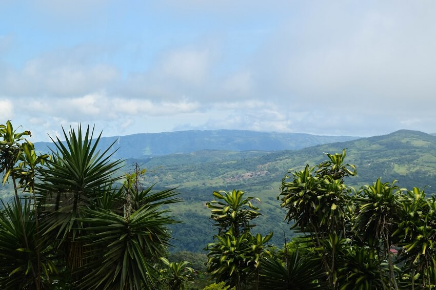 Mit dem Mietauto durch Costa Rica Hochland