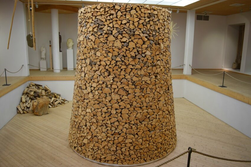 Der Goldene Umweg in Norwegen Nils Aas Galerie Holz