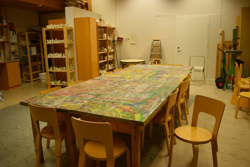 Der goldene Umweg in Norwegen Nils Aas Galerie Werkstatt