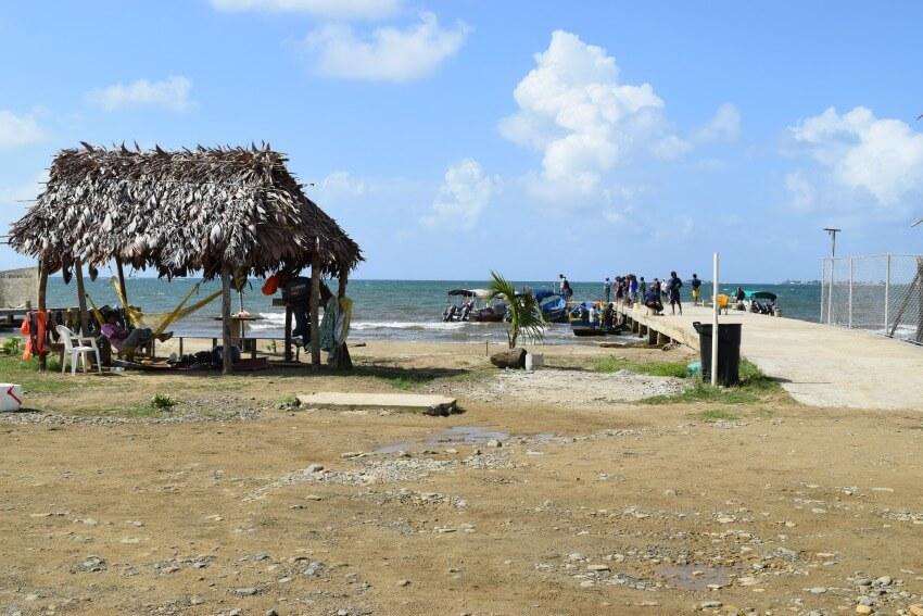 San Blas Inseln Hafen Carti