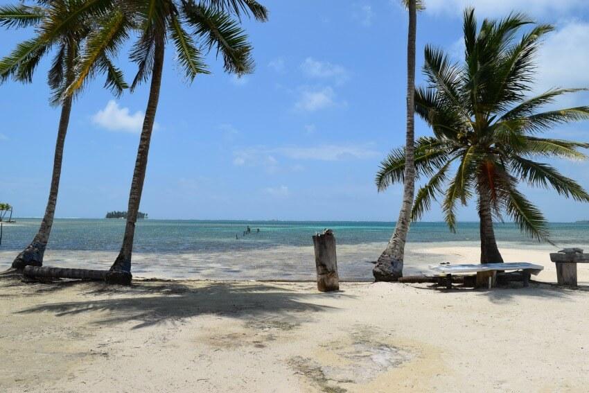 San Blas Inseln Isla Fragata zum Mittagessen