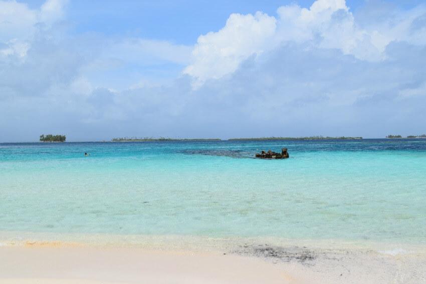 San Blas Inseln Isla Perro Schiffswrack