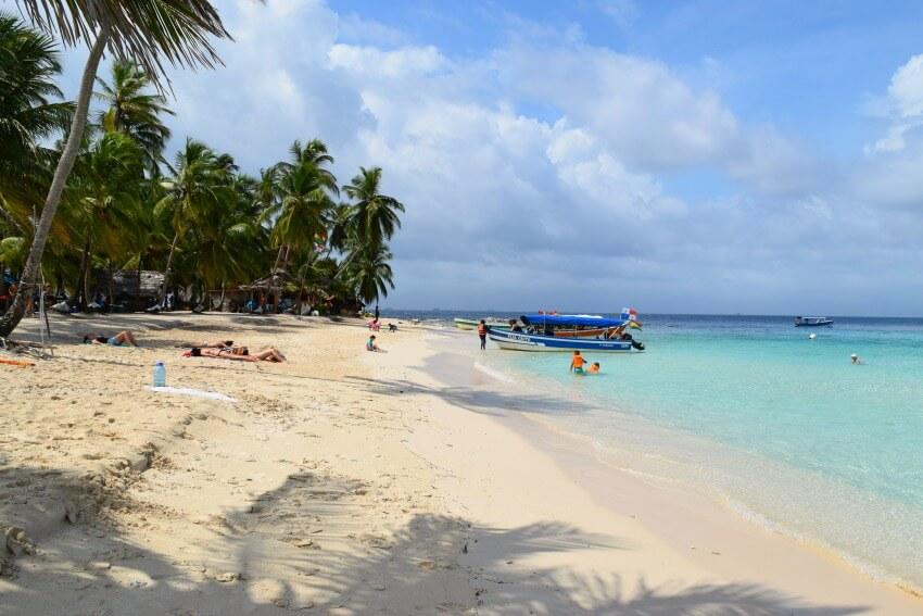 San Blas Inseln Isla Perro Strand