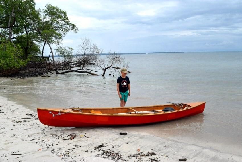 Isla Popa - einsamer Strand