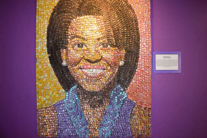 Ripley's Believe It Or Not! in London Michelle Obama