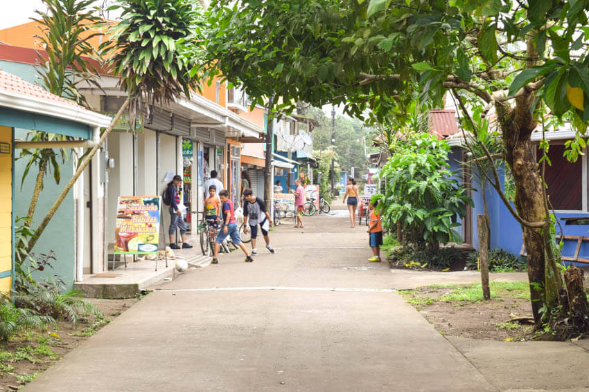 Tortuguero Nationalpark in Costa Rica Dorf
