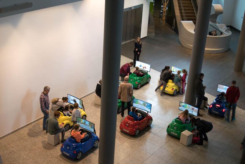 Aufstadt Wolfsburg mit Familie - Kinderführerschein