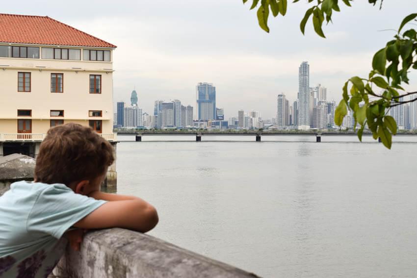Panama Highlights Ausblick von Casco Viejo