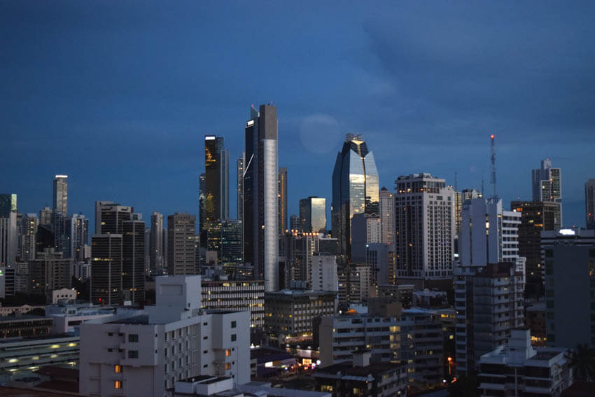 Panama Highlights Skyline