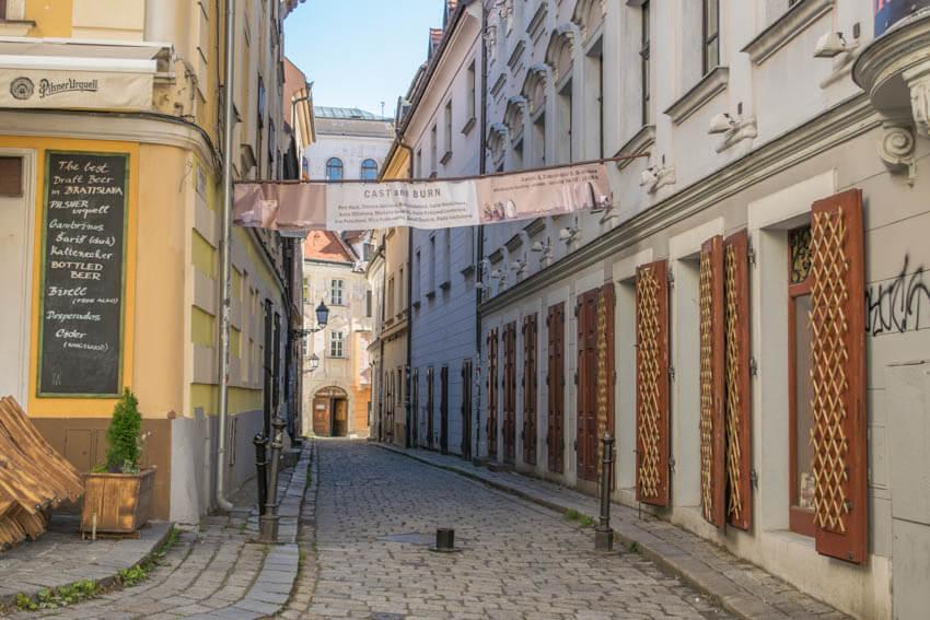 Bratislava Altstadt Gassen