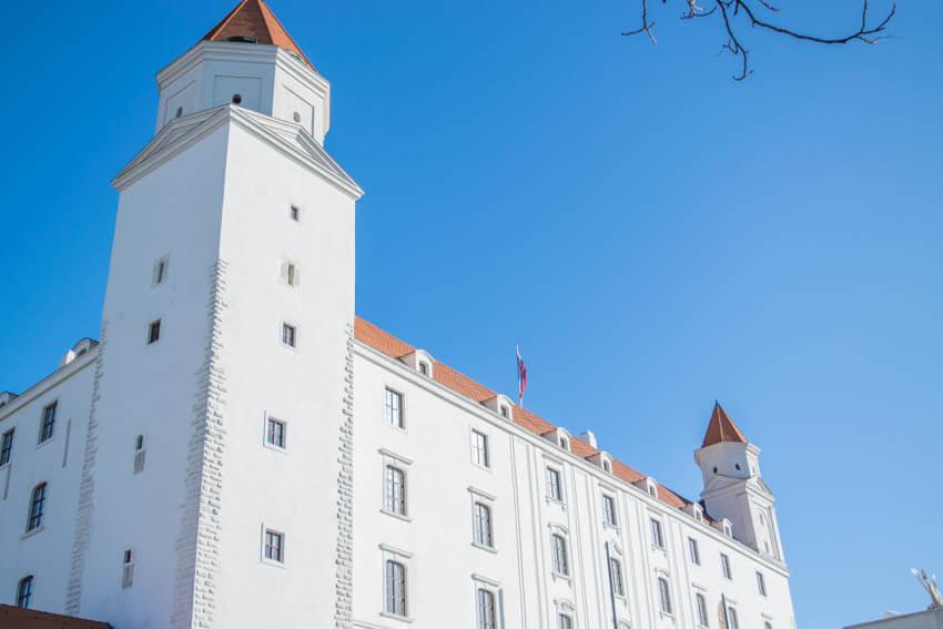 Bratislava Burg nah