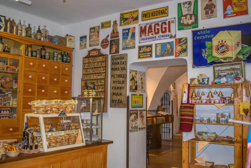 Bratislava nostalgischer Shop