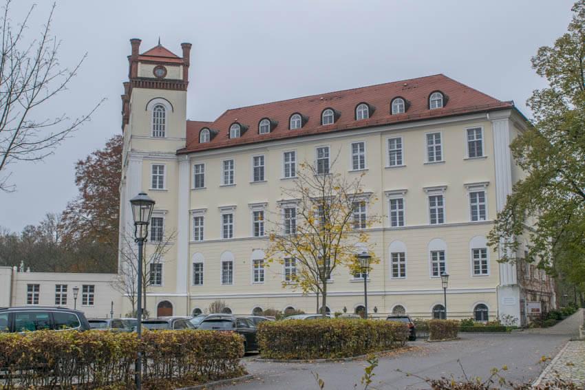 Spreewald im Winter und Herbst Schloss Lübbenau