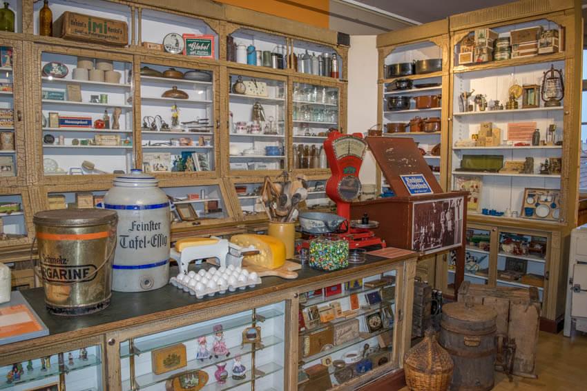 Spreewald im Winter und Herbst Spreewald Museum Laden