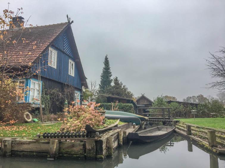 Spreewald im Winter und Herbst