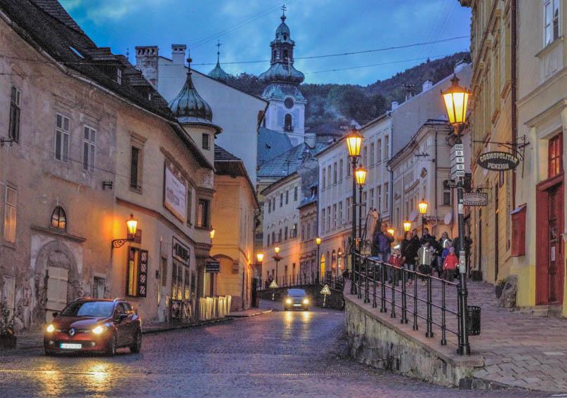 Banská Stiavnica Ortskern