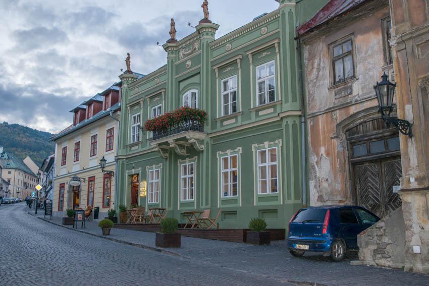 Banská Stiavnica Straße