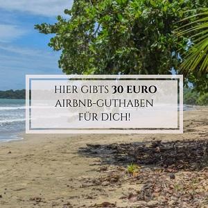 Cahuita Airbnb mit Schrift 300