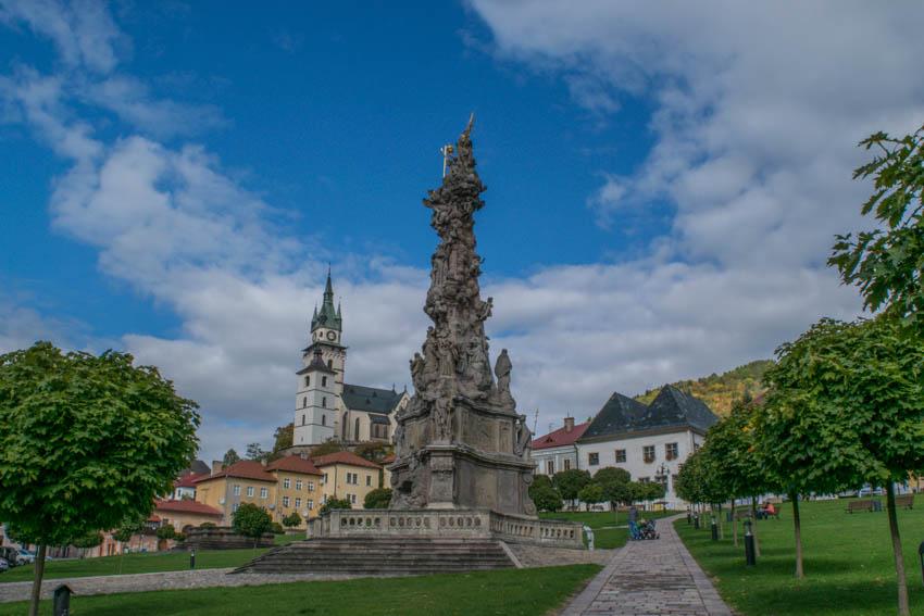 Kremnica Hauptplatz