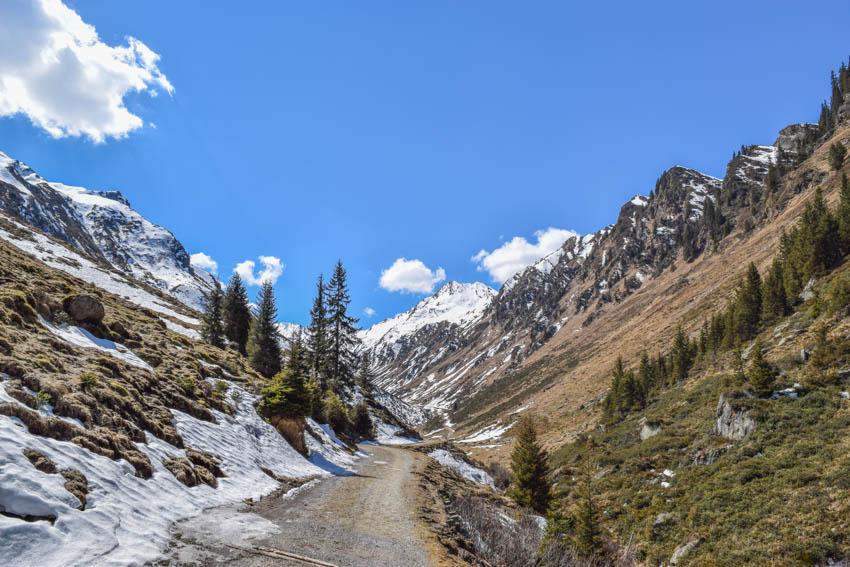 Wanderung zur Martalm Weg