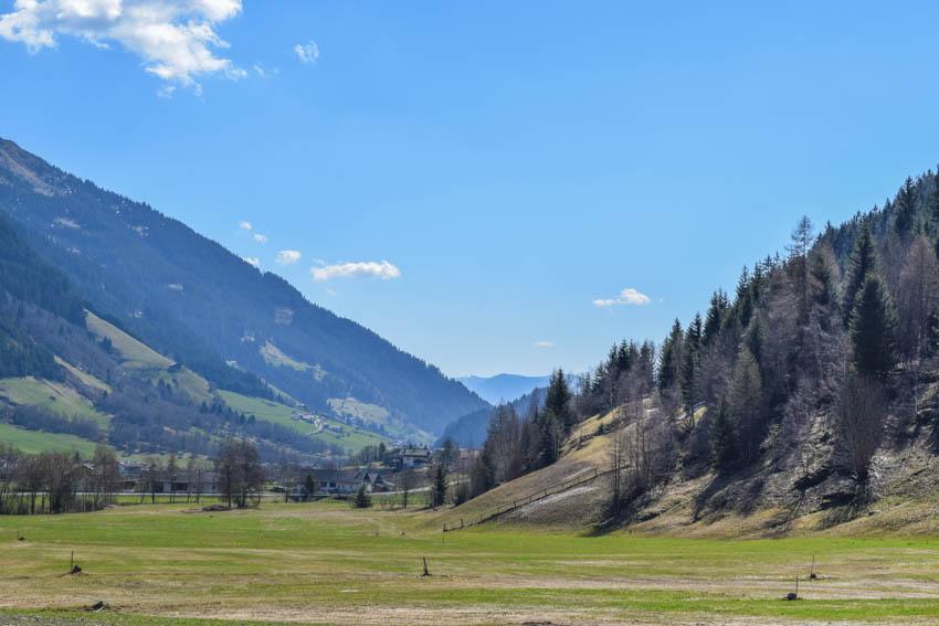 Wanderung zur Martalm in Ridnaun Start