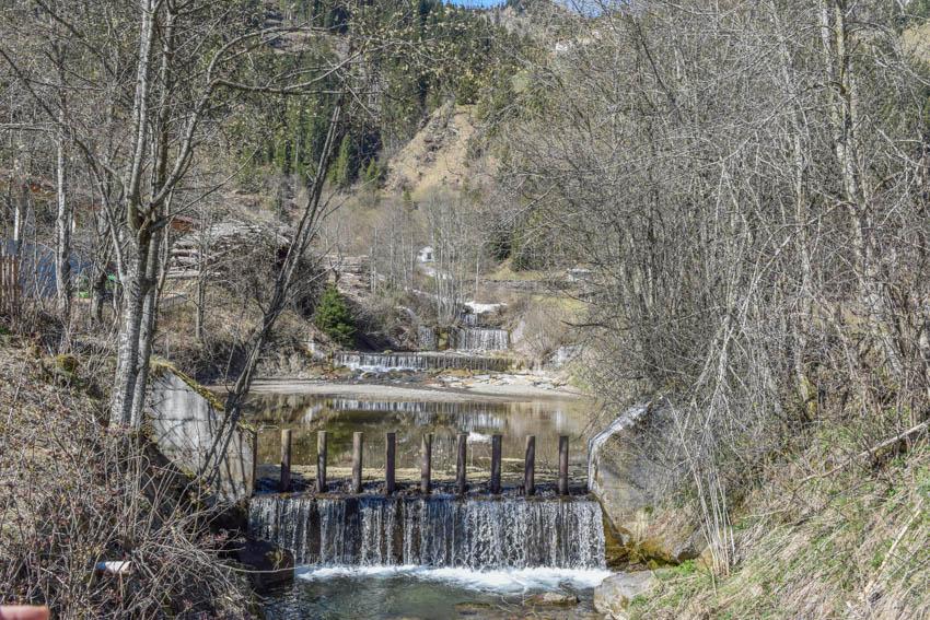 Wanderung zur Martalm in Ridnaun Wasserfall