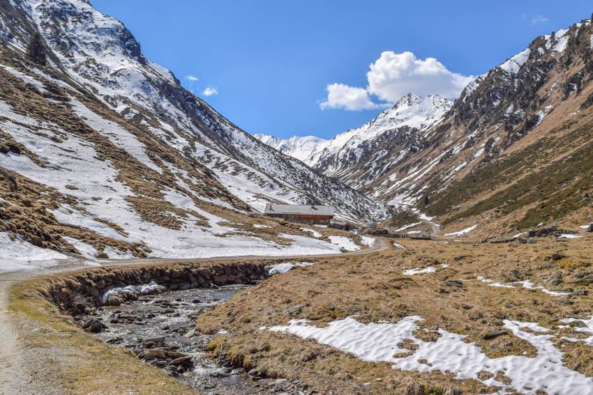 Wanderung zur Martalm in Ridnaun