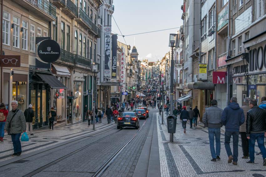 Porto Einkaufsstraße