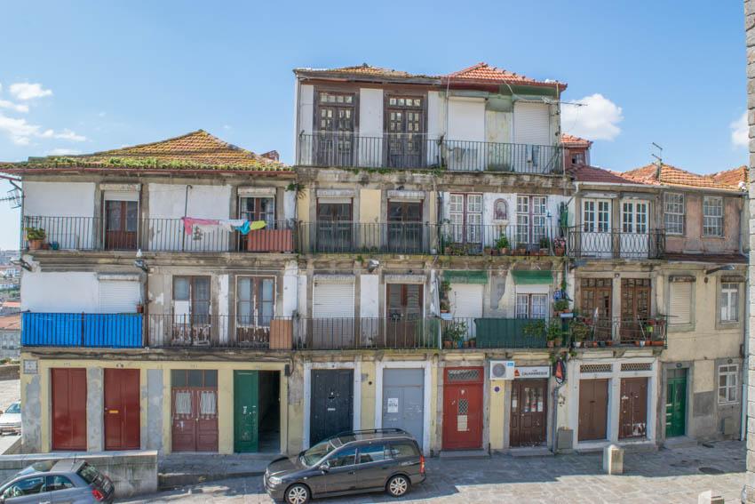 Porto Ribeira Häuser
