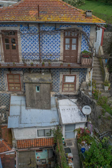 Porto alte Häuser