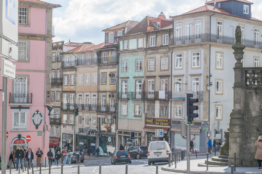 Spaziergang durch Porto