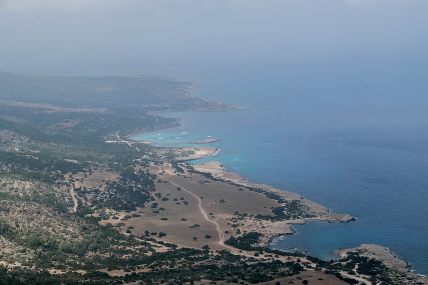 Akamas Halbinsel in Zypern