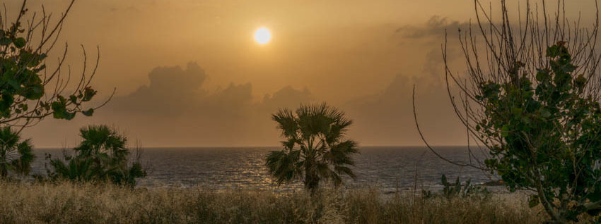 Pomos Sonnenuntergang