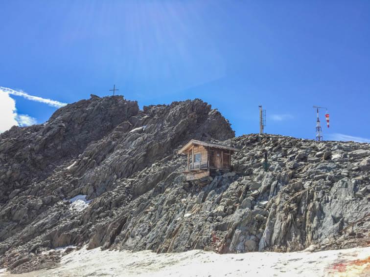 Schnalstaler Gletscher Hochjochferner Grawandgipfel
