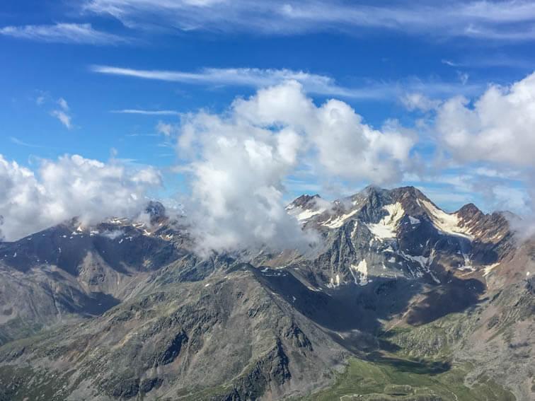 Schnalstaler Gletscher Hochjochferner Panorama