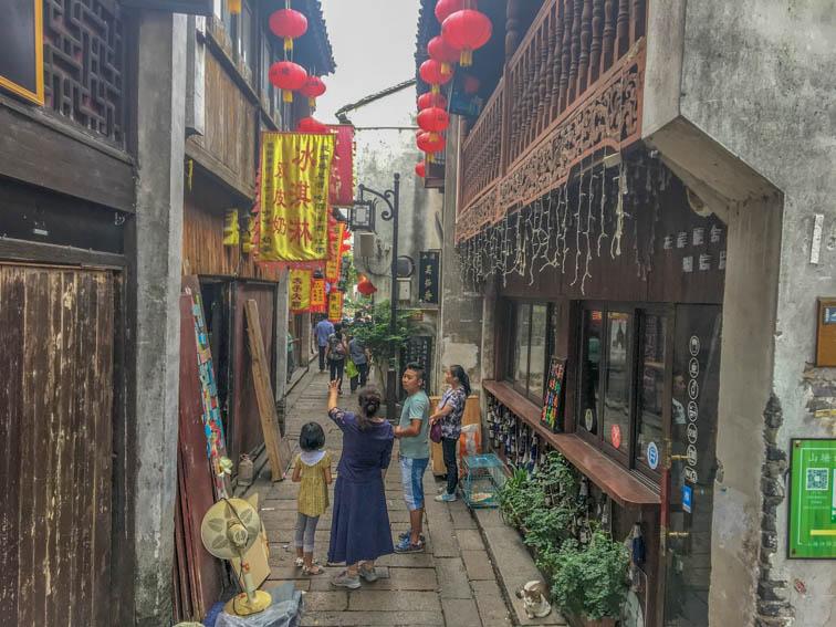 Suzhou Altstadt Gassen