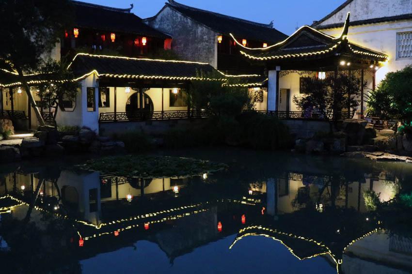 Suzhou Garten des Meisters der Netze