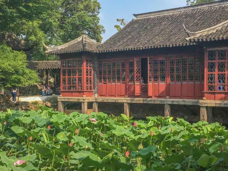 Suzhou Garten des bescheidenen Beamten Haus