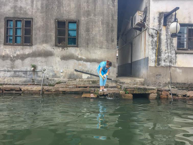 Suzhou Kaiserkanal Leben