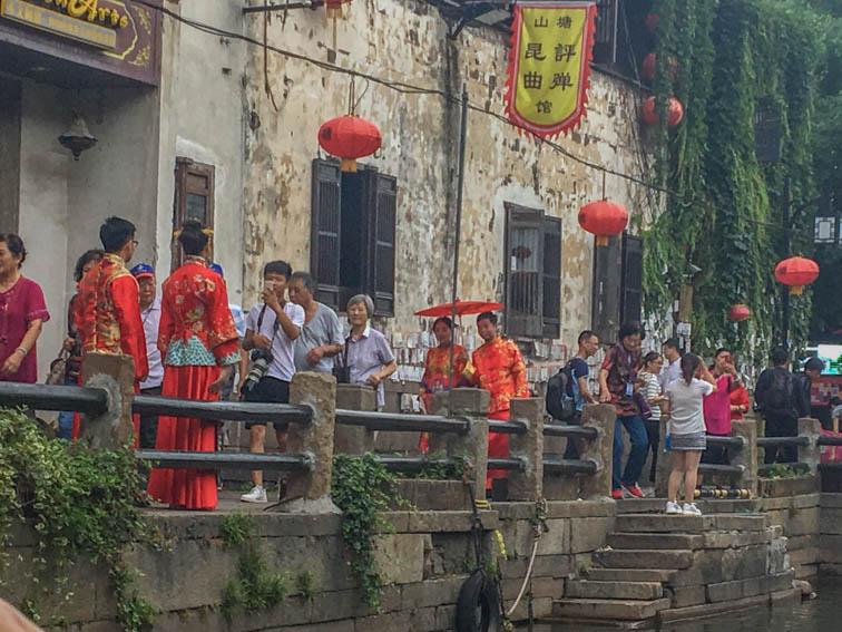 Suzhou Kaiserkanal Paar