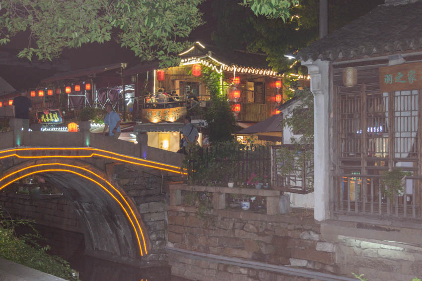 Suzhou Pingjiang Road Brücke