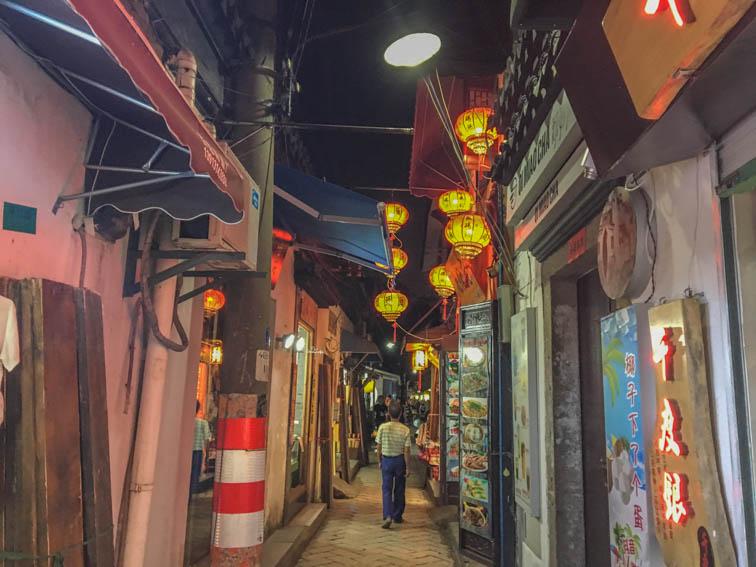 Suzhou Pingjiang Road Lampions