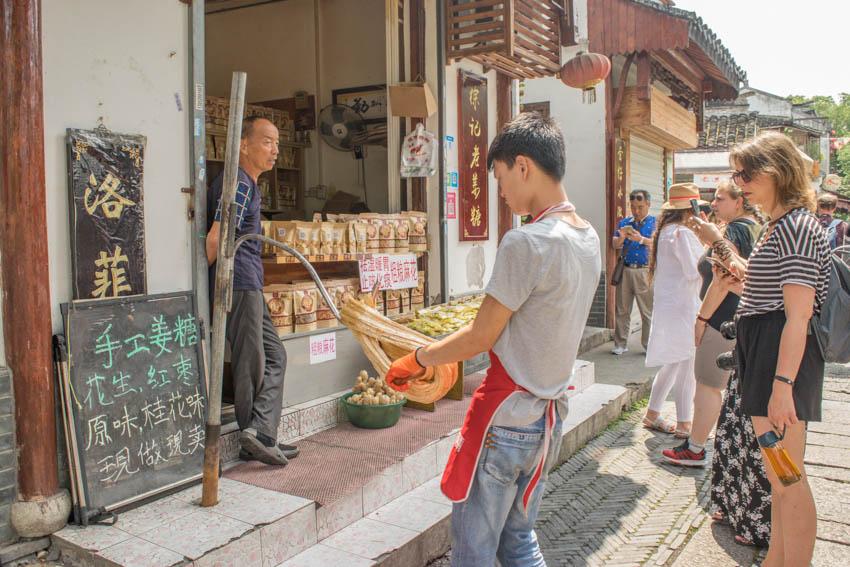 Suzhou Wasserstadt Mudu Ingwer-Bonbons